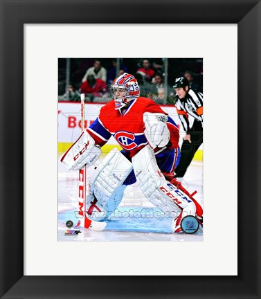 Framed Carey Price 2012-13 Action Print