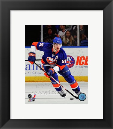 Framed John Tavares 2012-13 Action Print