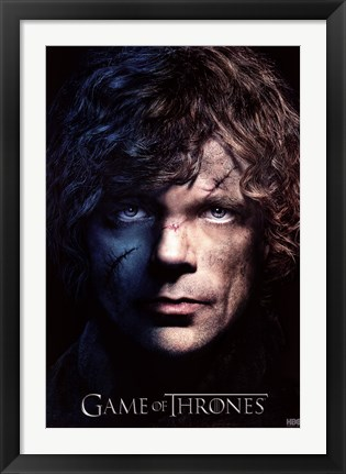 Framed Game of Thrones - S3 - Tyrion Print
