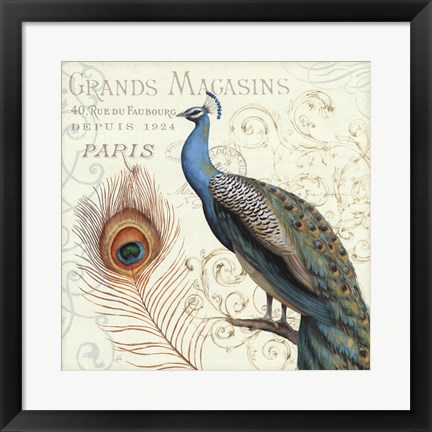 Framed Majestic Beauty II Print