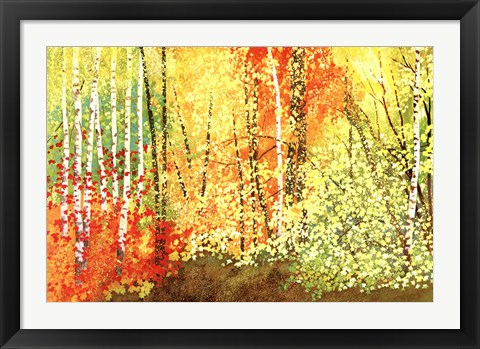 Framed Autumn Color Print