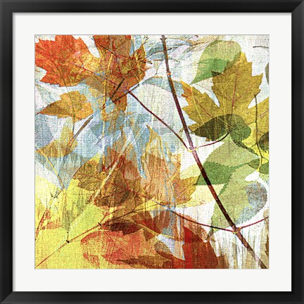 Framed Thicket I Left Print