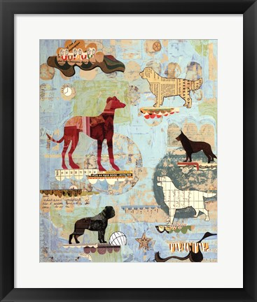 Framed Dog Show Part I Print