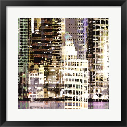 Framed Waterfront 2 Print