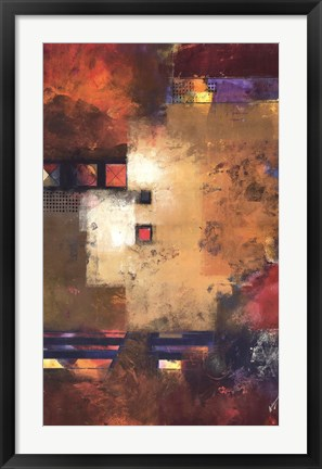 Framed Delineation II Print