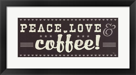 Framed Coffee Lovers IV Print
