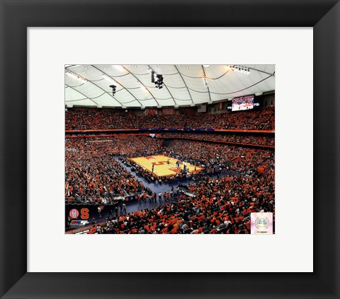 Framed Carrier Dome Syracuse University Orangemen 2013 Print