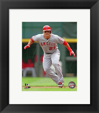 Framed Mike Trout 2013 Action Print