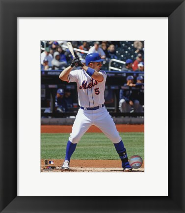 Framed David Wright 2013 New York Mets Print