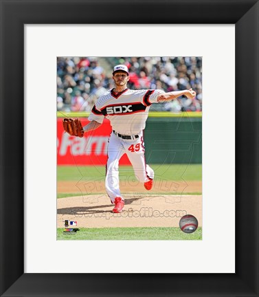Framed Chris Sale 2013 Chicago White Sox Print