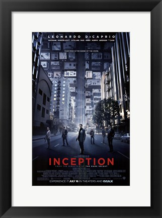 Framed Inception- Style C Print