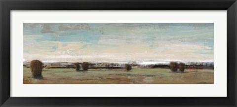Framed Flat Land I Print