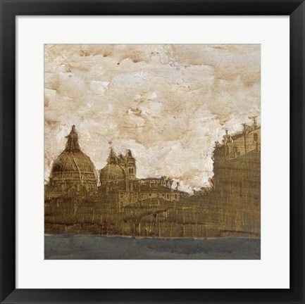 Framed Venetian Holiday II Print
