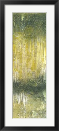 Framed Treeline Abstract II Print