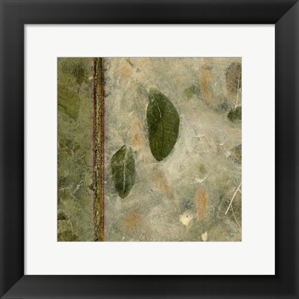Framed Earthen Textures III Print