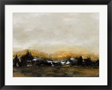 Framed Land VI Print