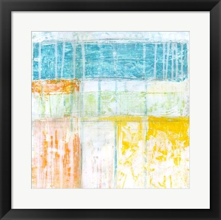 Framed Distant Colors II Print