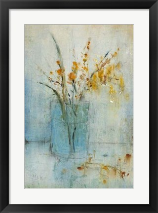 Framed Blue Container II Print
