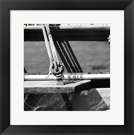 Framed Ship Shape IV Print