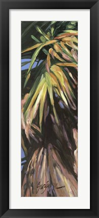 Framed Wild Palm I Print