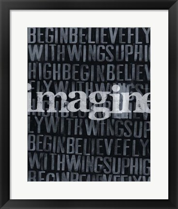 Framed Dream, Imagine... II Print