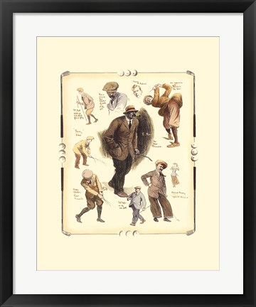 Framed Open Championship At Muirfield Print