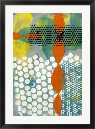 Framed Translucent Abstraction II Print