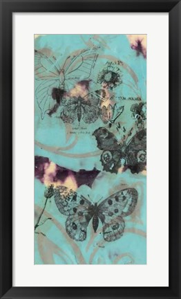 Framed Evening Flight II Print