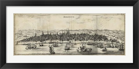 Framed View of Bordeaux Print