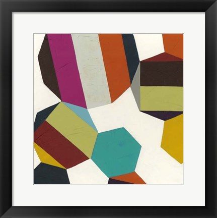 Framed Poly-Rhythmic I Print
