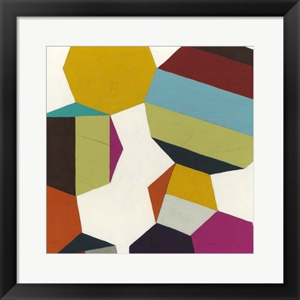 Framed Poly-Rhythmic III Print