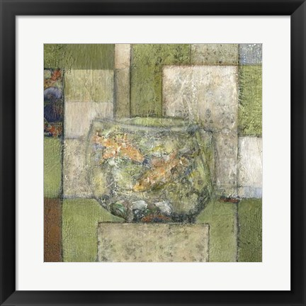Framed Chinese Still Life II Print
