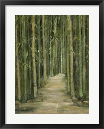 Framed Bamboo Forest Print