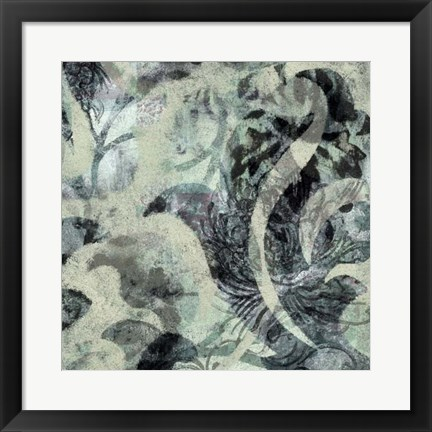 Framed Layered Patterns II Print