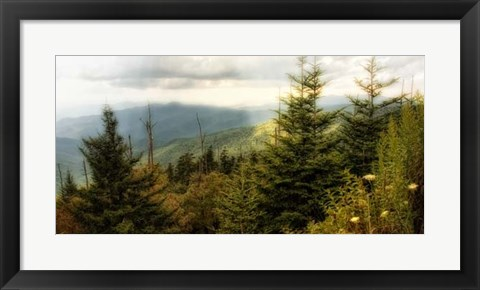 Framed Early Autumn Vista Print