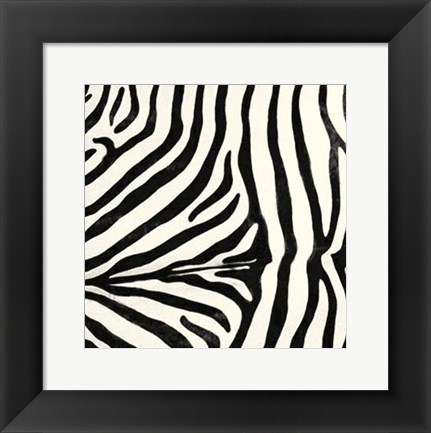 Framed Animal Instinct VII Print