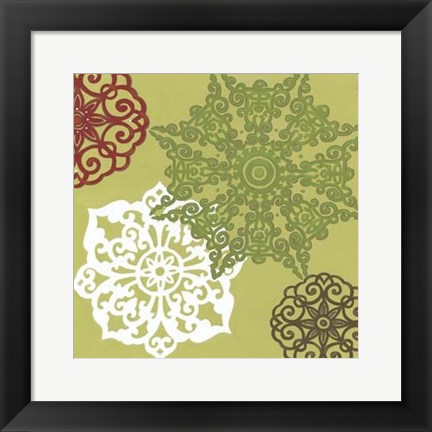Framed Winter Lace II Print