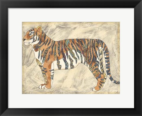 Framed Royal Tiger Print
