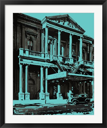 Framed Civic Repertory Theatre Print