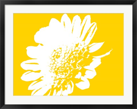 Framed Yellow Mum Print