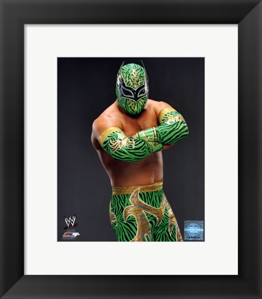 Framed Sin Cara 2013 Posed Print