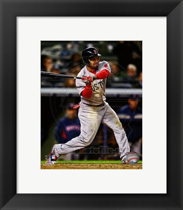 Framed Shane Victorino Ready For Baseball Print