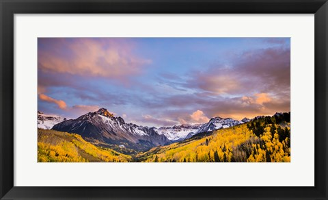 Framed Fall Valley Print