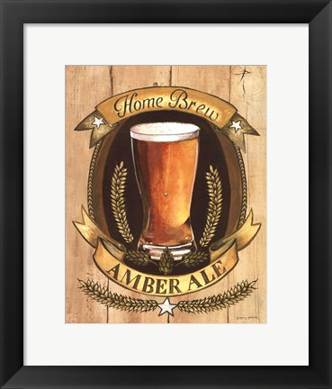 Framed Home Brew Print