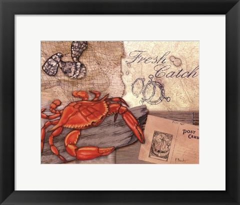 Framed Fresh Catch Print