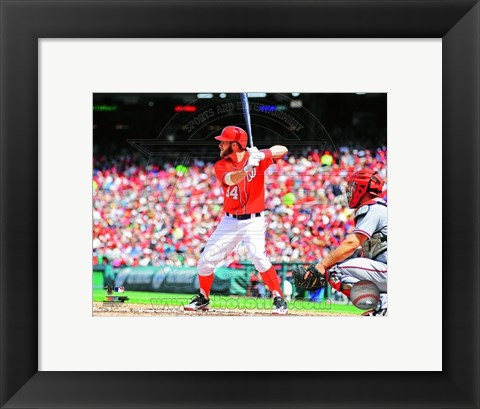 Framed Bryce Harper 2013 Action Print