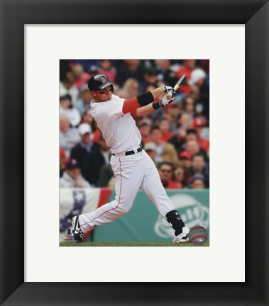 Framed Will Middlebrooks 2013 Action Print