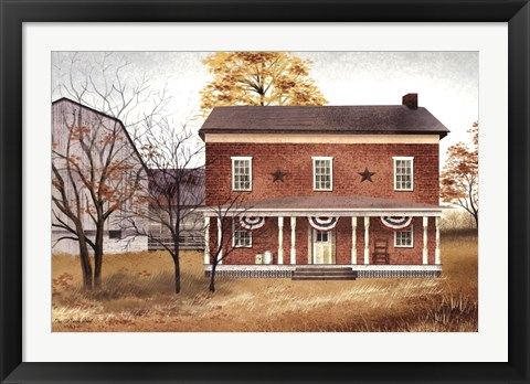Framed Old Tavern House Print