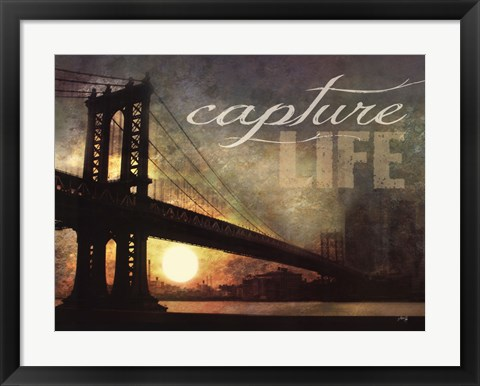 Framed Capture Life Print