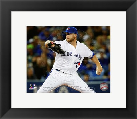 Framed Mark Buehrle 2013 Action Print